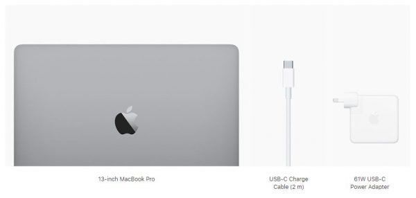 Apple MacBook-Pro for business included peripherals